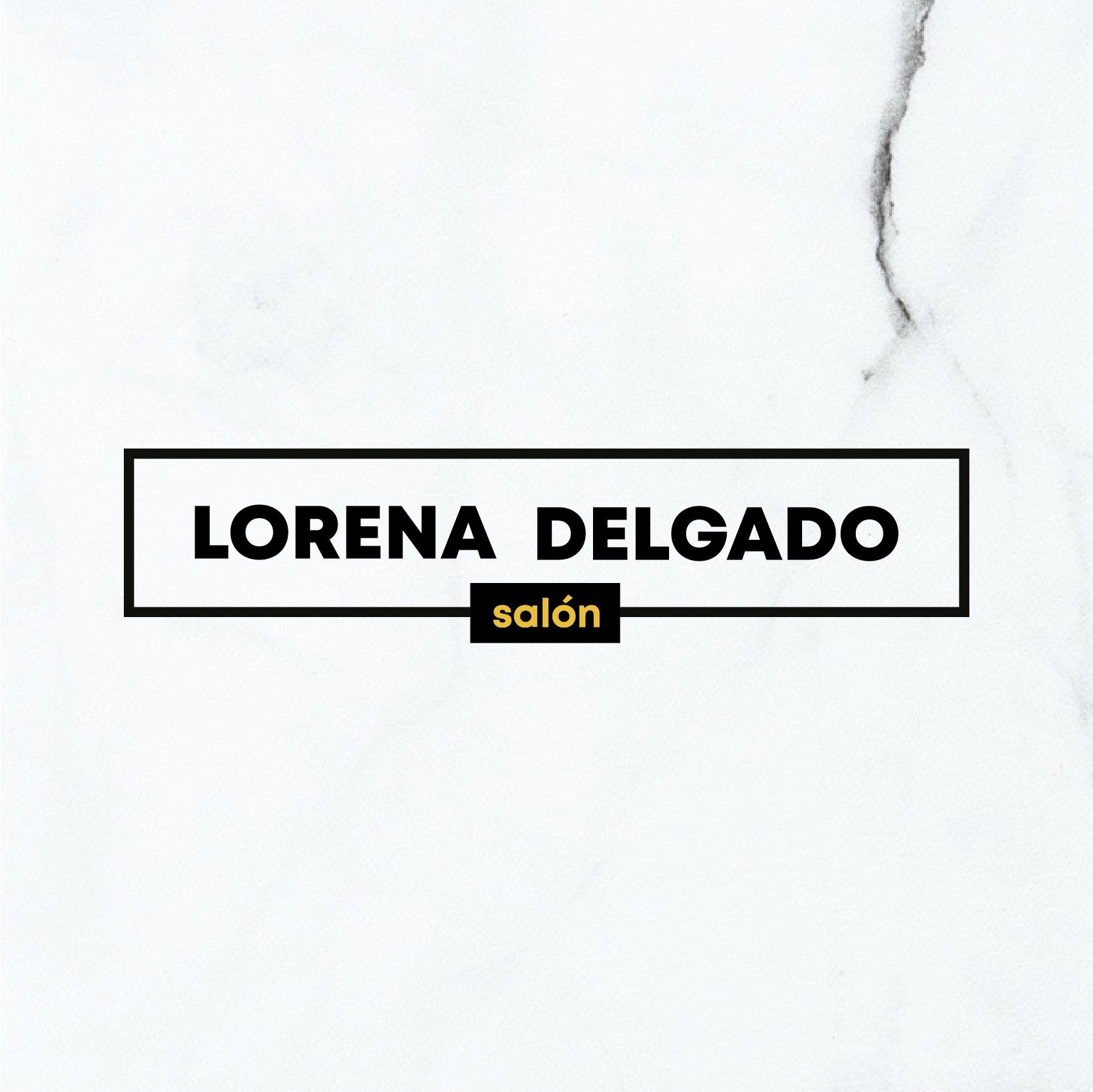 Rediseño de Isologotipo para Lorena Delgado salón