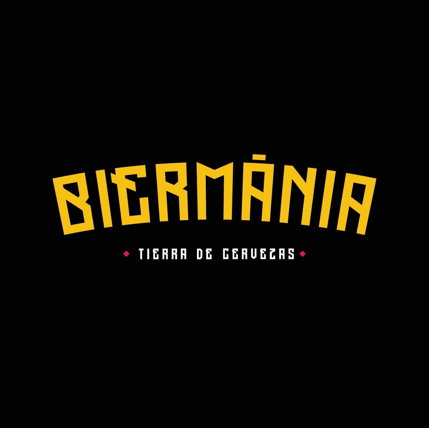 Diseño Logotipo de Biermánia